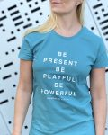 Be present teal 2